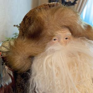 """19"""" tall vintage Santa from Horchow"""